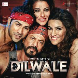Dilwale Original Motion Picture Soundtrack. Передняя обложка. Click to zoom.