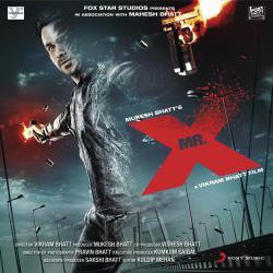 Mr. X Original Motion Picture Soundtrack. Передняя обложка. Click to zoom.