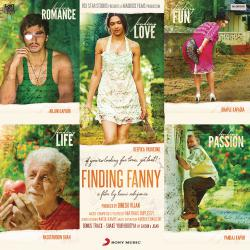 Finding Fanny Original Motion Picture Soundtrack. Передняя обложка. Click to zoom.