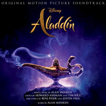 Aladdin Original Motion Picture Soundtrack. Front. Click to zoom.