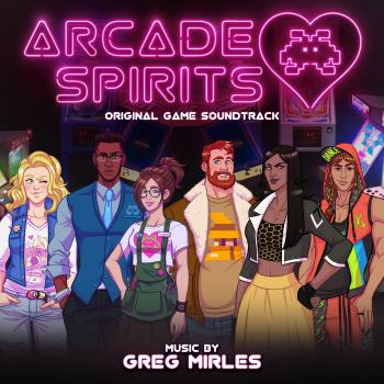 Arcade Spirits Original Game Soundtrack. Front. Click to zoom.