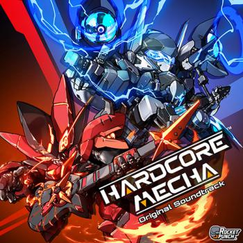 HARDCORE MECHA Original Soundtrack. Front. Click to zoom.