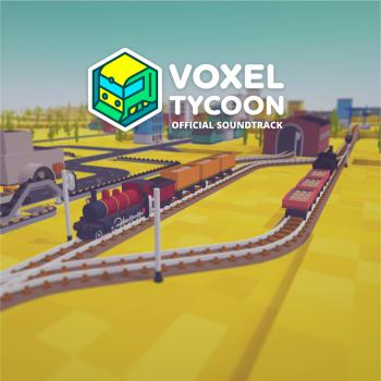Voxel Tycoon Official Soundtrack. Front. Click to zoom.