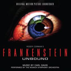 Frankenstein Unbound: Original Motion Picture Soundtrack. Передняя обложка. Click to zoom.