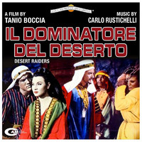 I dominatore del deserto Original Motion Picture Soundtrack. Передняя обложка. Click to zoom.