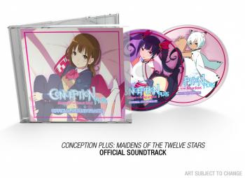 Conception PLUS: Maidens of the Twelve Stars Official Soundtrack. Contents (sample). Click to zoom.