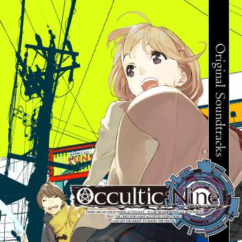 OCCULTIC;NINE Original Soundtracks. Front. Click to zoom.