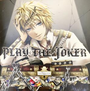 PLAY THE JOKER / Valshe [Limited Edition]. Booklet Front. Click to zoom.