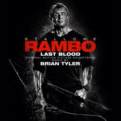 Rambo: Last Blood Original Motion Picture Soundtrack. Передняя обложка. Click to zoom.