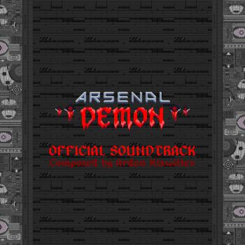 Arsenal Demon Official Soundtrack. Front. Click to zoom.