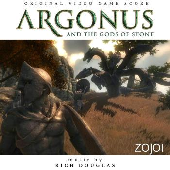 Argonus and the Gods of Stone Original Video Game Score. Front. Click to zoom.