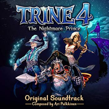 Trine 4: The Nightmare Prince Original Soundtrack. Front. Click to zoom.