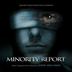Minority Report Expanded Original Motion Picture Soundtrack. Лицевая сторона. Click to zoom.
