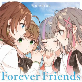 CUE! 01 Single Forever Friends. Front. Click to zoom.
