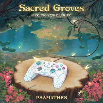 Sacred Groves: A Celtic VGM Tribute. Front. Click to zoom.