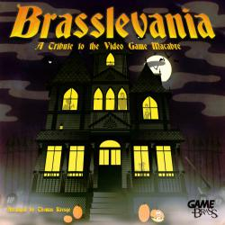 Brasslevania: A Tribute to the Video Game Macabre. Передняя обложка. Click to zoom.