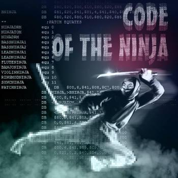 Code of the Ninja. Front. Click to zoom.