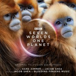 Seven Worlds One Planet Original Television Soundtrack Expanded Edition. Передняя обложка. Click to zoom.