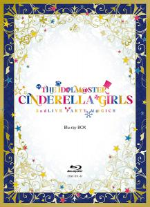 THE IDOLM@STER CINDERELLA GIRLS 2ndLIVE PARTY M@GIC!! Blu-ray BOX, The. Front. Click to zoom.