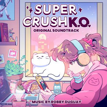 Super Crush KO Original Soundtrack. Front. Click to zoom.