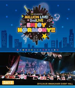 THE IDOLM@STER MILLION LIVE! 2ndLIVE ENJOY H@RMONY!! LIVE Blu-ray DAY2, The. Лицевая сторона . Click to zoom.