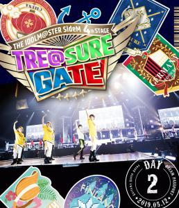 THE IDOLM@STER SideM 4th STAGE ~TRE@SURE GATE~ LIVE Blu-ray [DREAM PASSPORT], The. Front. Click to zoom.