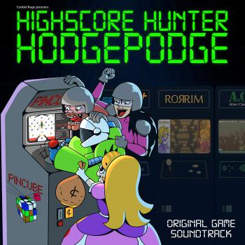 Highscore Hunter Hodgepodge Original Game Soundtrack. Front. Click to zoom.