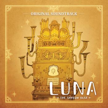 LUNA The Shadow Dust Original Soundtrack. Front. Click to zoom.