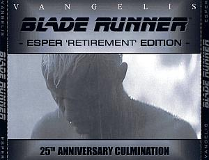 Blade Runner - Esper 'Retirement' Edition (25th Anniversary Culmination). CD Case (Front). Click to zoom.