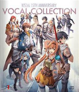 KISEKI 15TH ANNIVERSARY VOCAL COLLECTION. Лицевая сторона . Click to zoom.