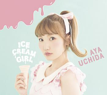 ICECREAM GIRL / Aya Uchida [Limited Edition A]. Front. Click to zoom.