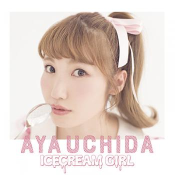 ICECREAM GIRL / Aya Uchida. Front. Click to zoom.