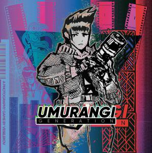 Umurangi Generation Soundtrack. Front. Click to zoom.