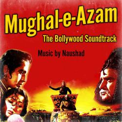 Mughal-e-Azam The Bollywood Soundtrack. Передняя обложка. Click to zoom.