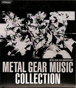 METAL GEAR 25th ANNIVERSARY METAL GEAR MUSIC COLLECTION. Front. Click to zoom.