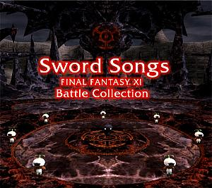 Sword Songs ~ FINAL FANTASY XI Battle Collection. Front. Click to zoom.