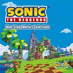 Sonic The Hedgehog / Non-Stop Music Selection Vol.4. Лицевая сторона . Click to zoom.
