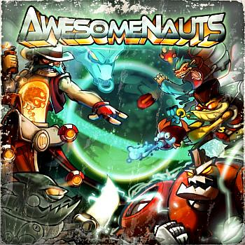 Awesomenauts. Front. Click to zoom.