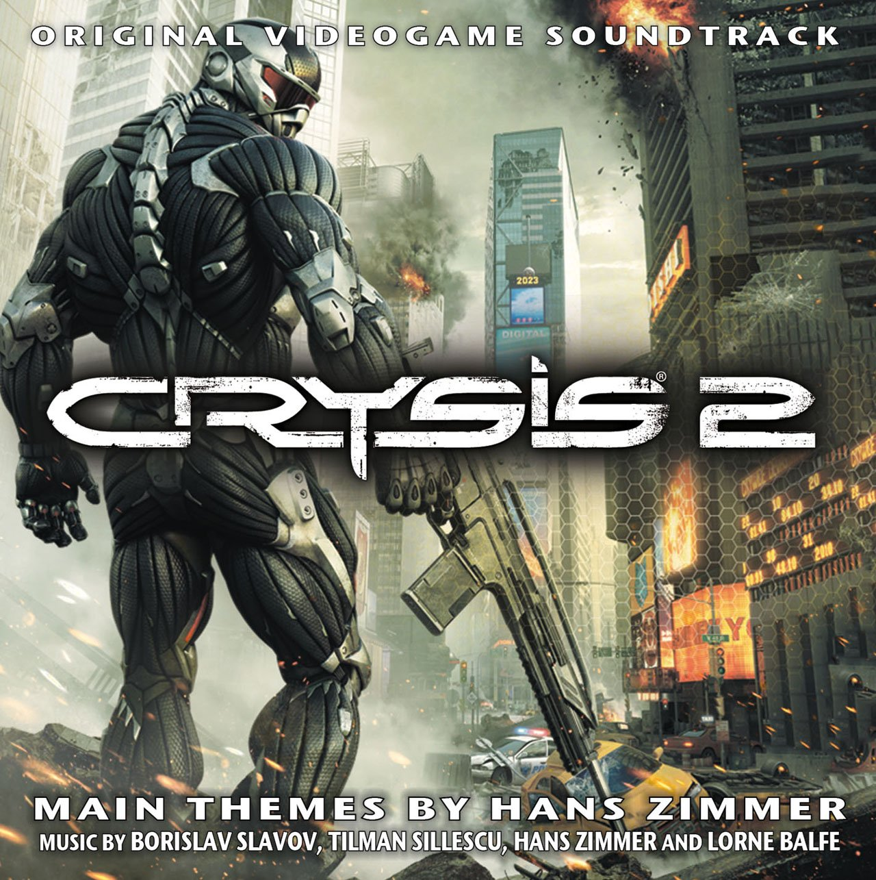 Crysis 2 original videogame soundtrack soundtrack from for Zimmer soundtrack