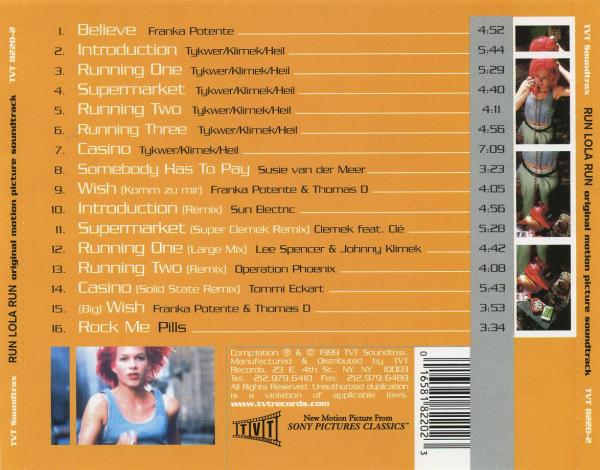 Run Lola Run Original Motion Picture Soundtrack