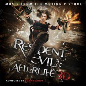 Resident Evil: Afterlife - Music Fom The Motion Picture. Передняя обложка . Click to zoom.