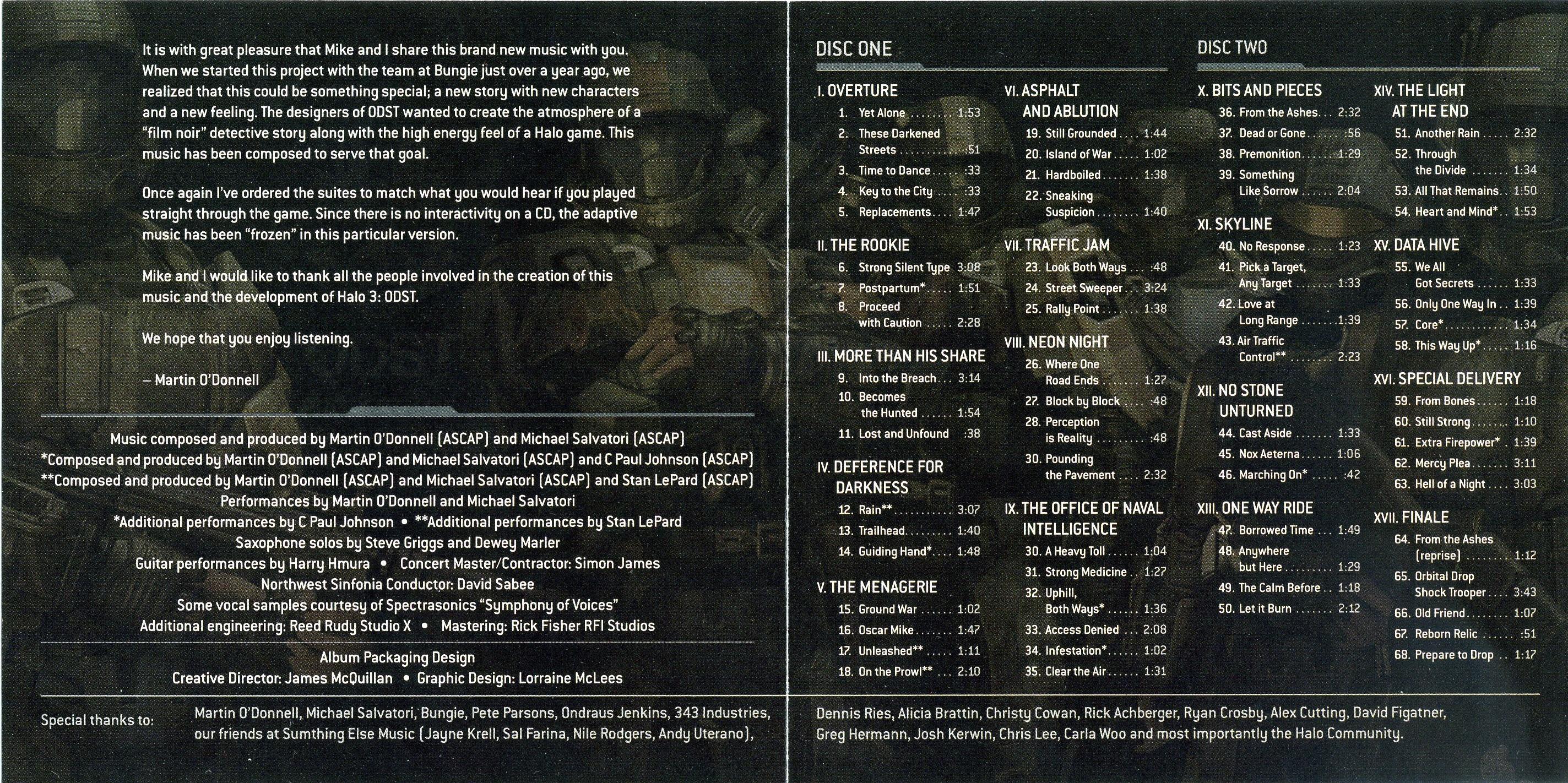 Halo 3: ODST Original Soundtrack  Soundtrack from Halo 3