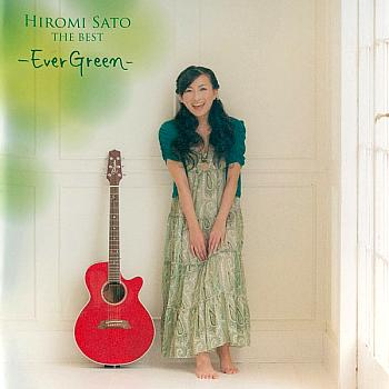 Hiromi Sato THE BEST -Ever Green-. Front. Click to zoom.