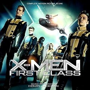 X-Men: First Class (Complete Score). Alternative Front Cover (Complete). Click to zoom.