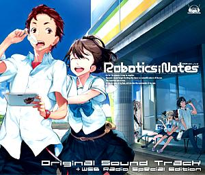 ROBOTICS;NOTES Original Soundtrack. Front (small). Click to zoom.