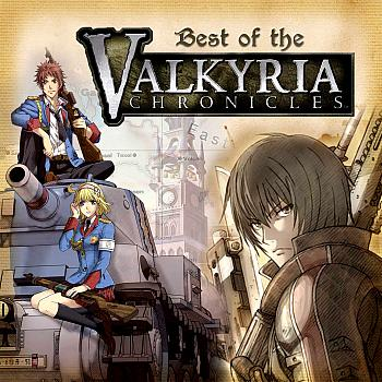 Best of the Valkyria Chronicles. Front. Click to zoom.
