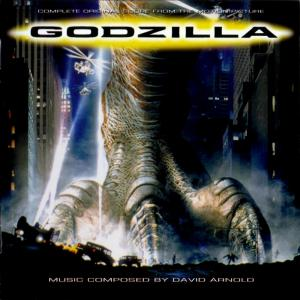 Godzilla Complete Original Score from The Motion Picture. Лицевая сторона. Click to zoom.