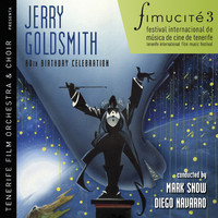 Fimucité 3: Jerry Goldsmith 80th Birthday Celebration. Передняя обложка. Click to zoom.