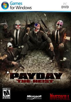 PAYDAY - The He!st. Лицевая сторона. Click to zoom.