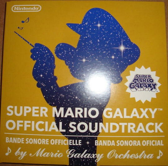 SUPER MARIO GALAXY OFFICIAL SOUNDTRACK  Soundtrack from